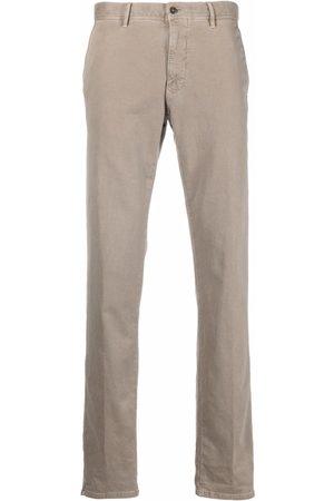 Incotex Men Chinos - Straight-leg chino trousers - Neutrals