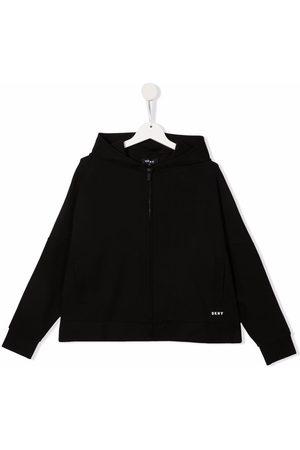 DKNY Hoodies - TEEN logo print hoodie