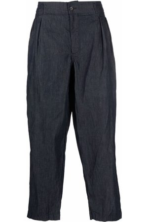 Comme des Garçons Loose fit chambray chinos