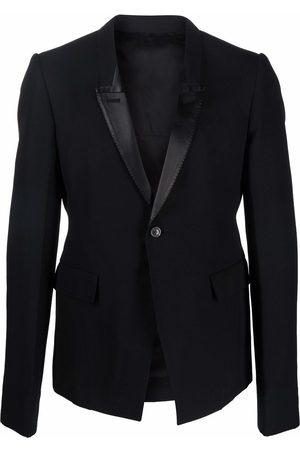 Rick Owens Peak-lapels single-breasted blazer
