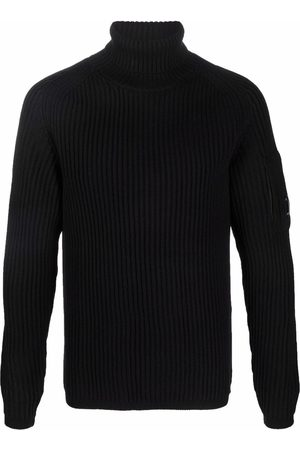 C.P. Company Ribbed-knit roll-neck jumper