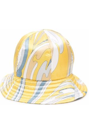 Emilio Pucci Abstract-print bucket hat