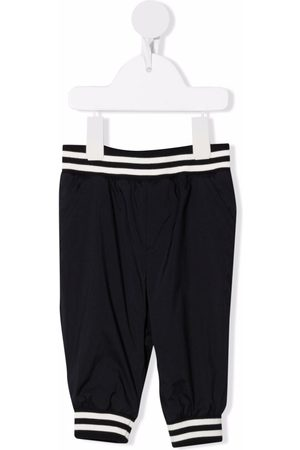 Moncler Logo-patch elasticated-waist trousers