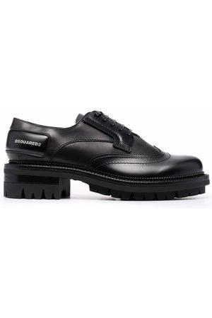 Dsquared2 Men Formal Shoes - Polished leather derby shoes