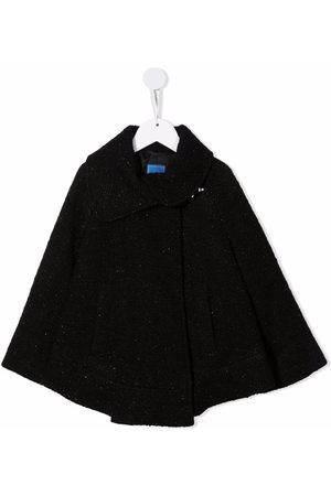 FAY KIDS Girls Ponchos & Capes - Glitter detail cape