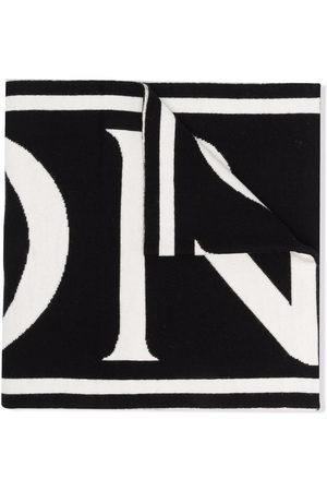 Moncler Logo lettering scarf