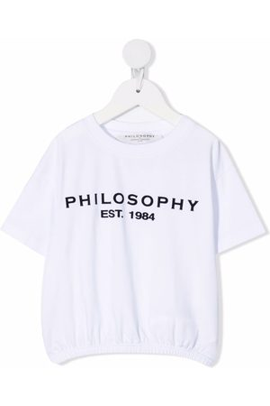 PHILOSOPHY DI LORENZO SERAFINI Logo-print short-sleeved T-shirt
