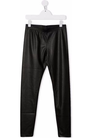 PHILOSOPHY DI LORENZO SERAFINI TEEN faux-leather leggings