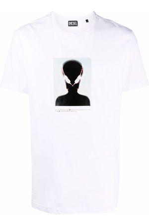 Diesel Alien print cotton T-shirt
