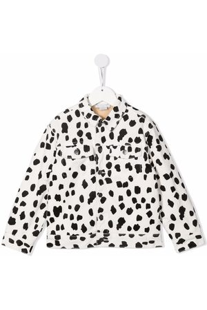 Stella McCartney Dalmatian print denim jacket