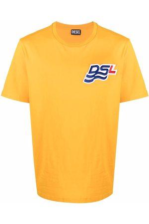 Diesel Logo-patch short-sleeved T-shirt