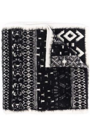 Moncler Pattern knit scarf