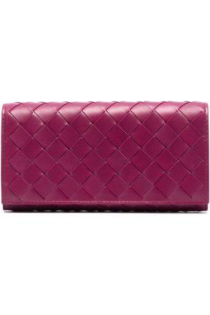 Bottega Veneta Rectangular Intrecciato wallet