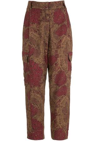 OSKLEN Populus printed trousers