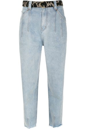 NK Giovanna belted tapered jeans