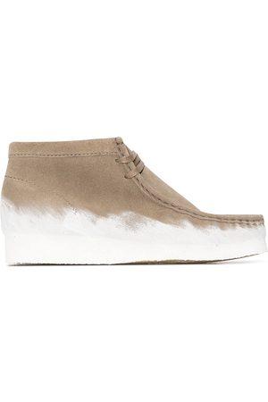 Clarks Men Boots - Wallabee suede boots - Neutrals