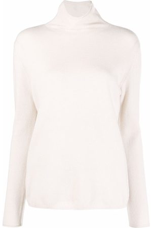 Luisa Cerano Women Turtlenecks - Roll neck long-sleeved jumper - Neutrals