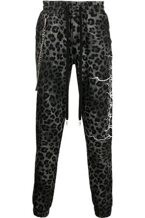 HACULLA Men Tracksuits - All-over leopard print trackpants