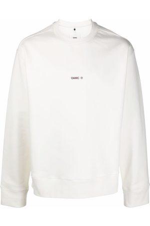 OAMC Mark long-sleeve sweatshirt