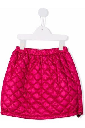 Il gufo Girls Mini Skirts - Quilted mini skirt