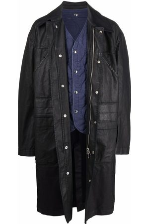 Diesel Layered trench coat