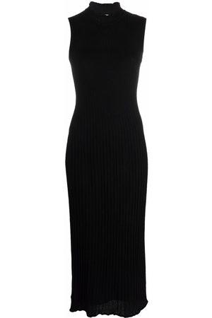 M Missoni Women Midi Dresses - Round neck sleeveless midi dress