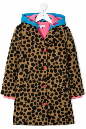 The Marc Jacobs Animal-print single-breasted coat