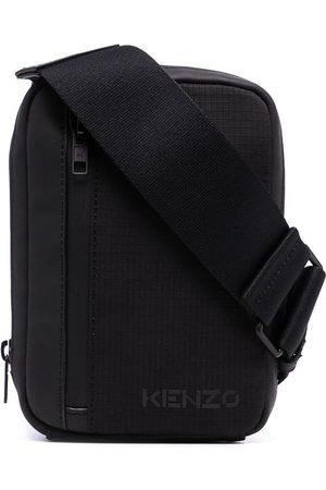 Kenzo Men Phones Cases - Logo-print phone holder