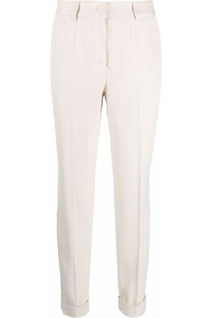 P.a.r.o.s.h. Tailored cropped trouser - Neutrals