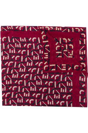 Kenzo Women Scarves - All-over monogram scarf