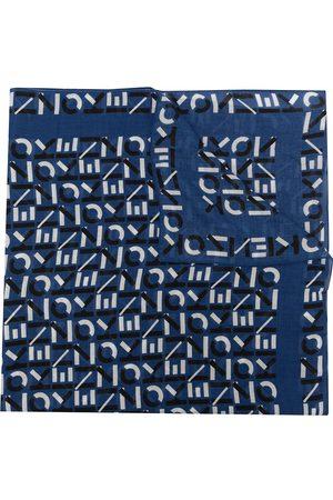 Kenzo All-over monogram scarf