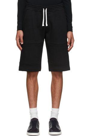 Ermenegildo Zegna Men Shorts - Black Essential Shorts