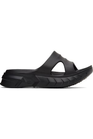 Givenchy Black Marshmallow Sandals