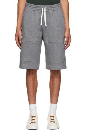 Ermenegildo Zegna Men Shorts - Grey Essential Shorts
