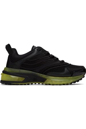Givenchy Women Sneakers - Black & Green GIV 1 Sneakers