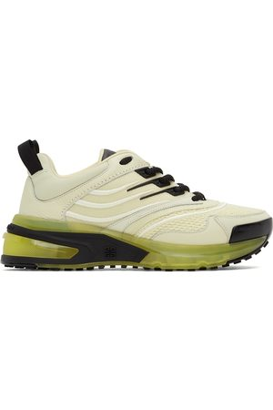 Givenchy Women Sneakers - Off-White & Green GIV 1 Sneakers