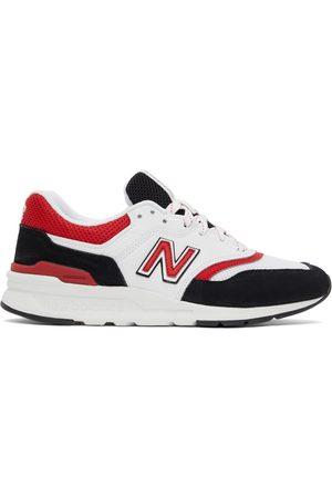 New Balance Black & White 997H Sneakers