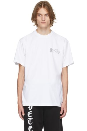 Vetements Men T-shirts - Human Identity T-Shirt