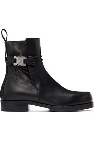 1017 ALYX 9SM Men Chelsea Boots - Black Buckle Chelsea Boots