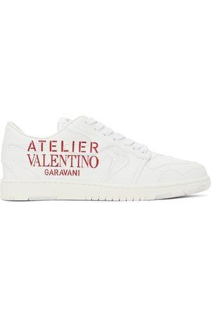 VALENTINO GARAVANI Men Sneakers - White 07 Camouflage Edition Low Sneakers