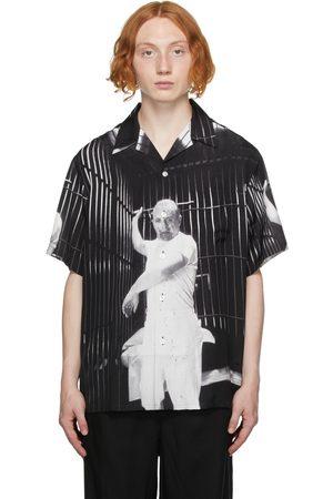 Wacko Maria Men Short sleeves - Black Silence Of The Lambs 'Guilty Parties' Short Sleeve Shirt