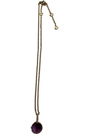 Bvlgari Parentesi Cocktail pink gold necklace