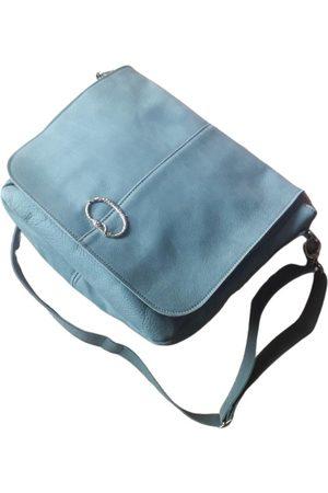 SOUS LES PAVÉS Leather handbag