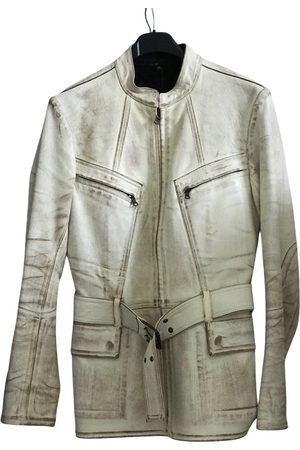 ISAAC SELLAM EXPERIENCE Leather biker jacket