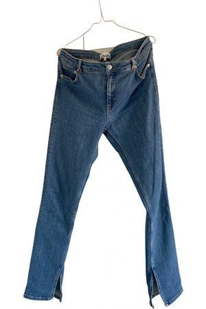 Ganni Spring Summer 2019 bootcut jeans