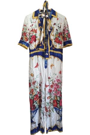 Dolce & Gabbana Women Jumpsuits - Silk jumpsuit
