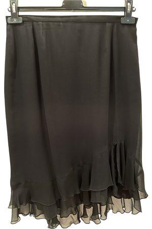 NATAN EDOUARD VERMEULEN Silk mid-length skirt