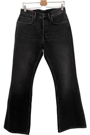 Acne Studios Women Bootcut - Blå Konst bootcut jeans