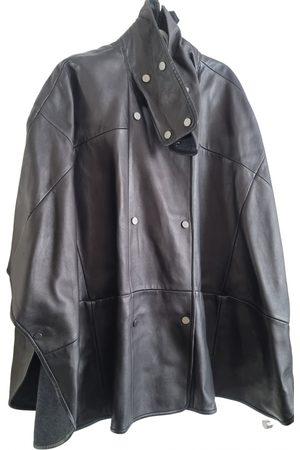 Vince Leather cape