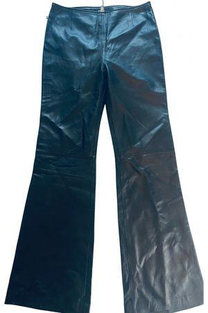 Gianfranco Ferré Leather trousers